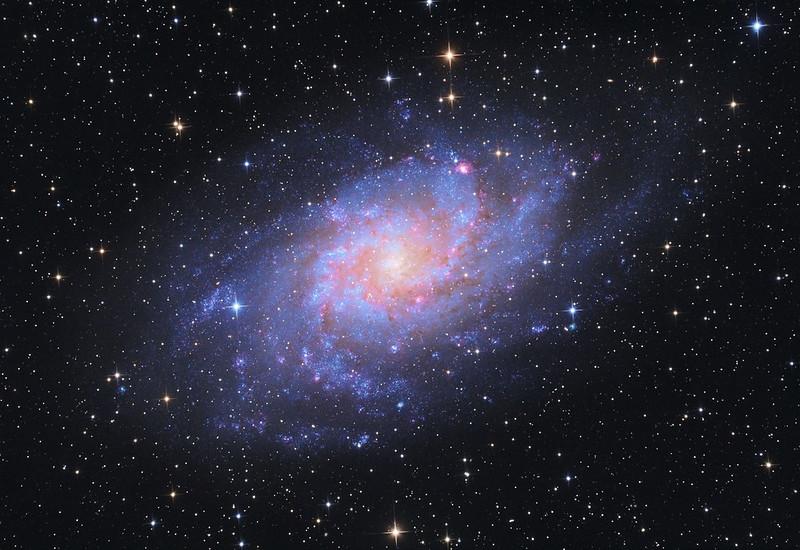 Ágoston Zsolt - M33 Triangulum-galaxis - VCSE