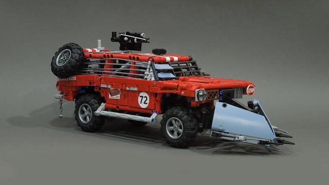 GAZ-2402 a post-apocalypse combat vehicle