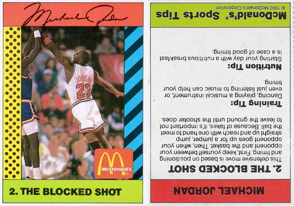 1990 McDonalds Michael Jordan #2