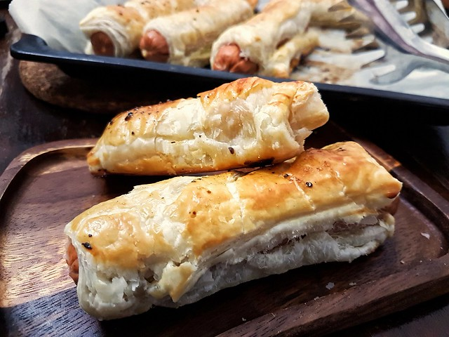 Puff Pastry Sausage Rolls..