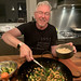 Brian knows what to do with a wok