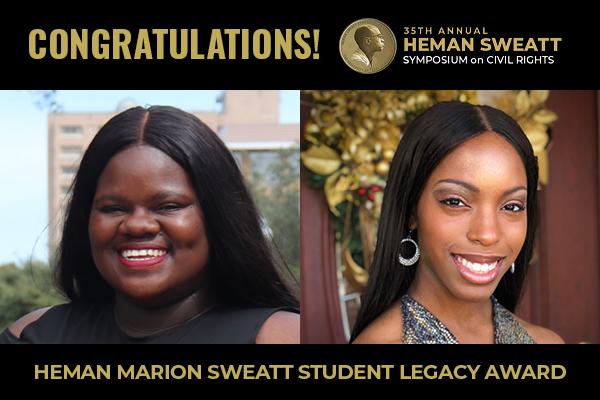 Heman Sweatt Student Legacy Award Winners Announced