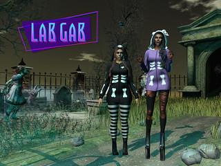 Second Life's Lab Gab - Haunted Halloween 2020