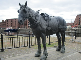 The Liverpool Carters Working Horse Monument | by louisejaynemunton