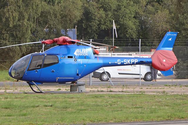 G-SKPP  -  Eurocopter EC120B c/n 1463  -  BOH/EGBH 15/9/20