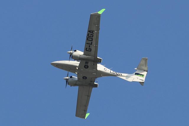 G-LDGA  -  Diamond Aircraft DA-42NG Twin Star c/n 42.N053  -  BOH/EGHH 15/9/20