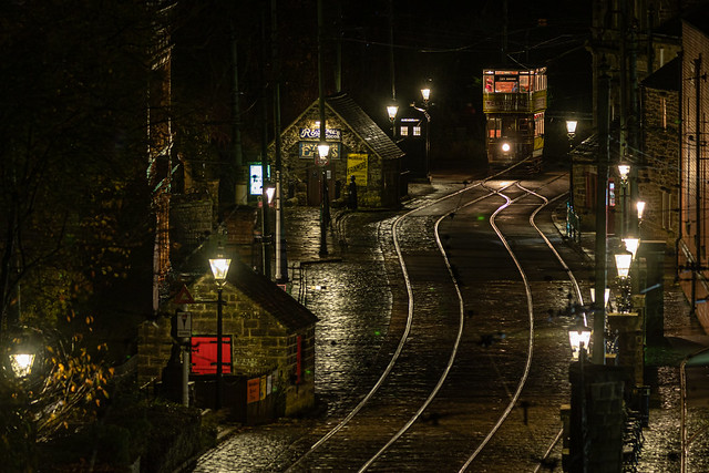 Crich Tramway Village Derbyshire UK