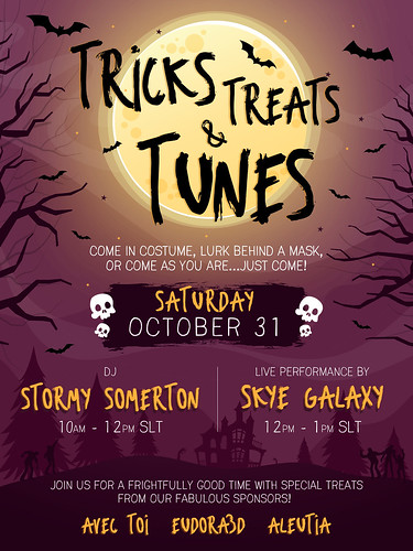 Tricks Treats & Tunes | by [Aleutia] | Designer
