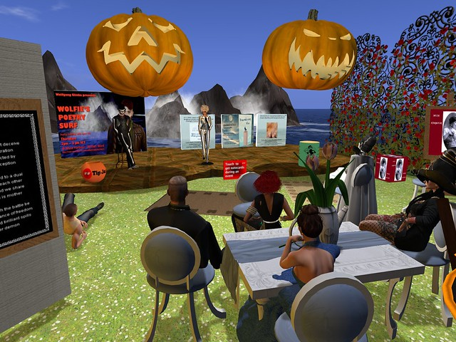 Wolifie's Halloween Poetry Bash 2020