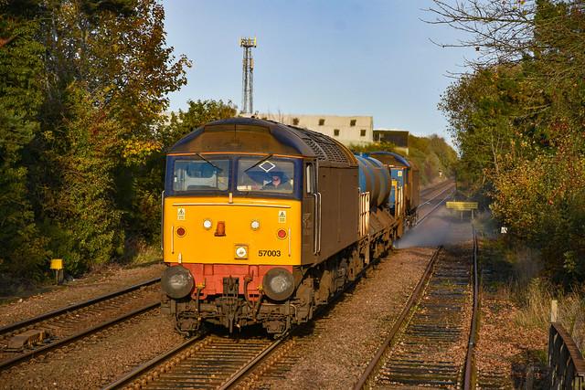 57003 t&t 57002 - Wymondham - 28/10/20.