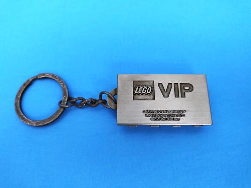 LEGO Star Wars Han Solo Carbonite Metal Keychain (5006363)