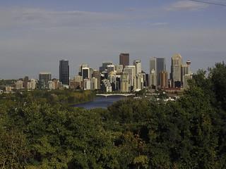 Warm glo on Calgary in 2004