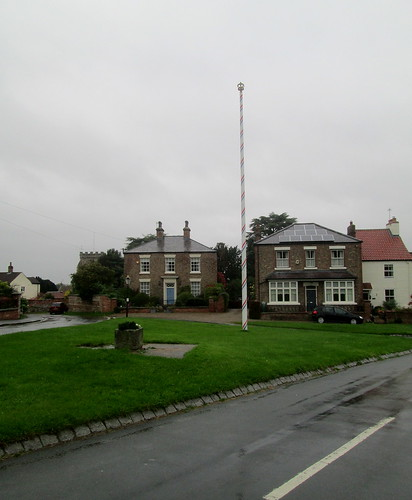 Maypole, Aldborough, Yorkshire
