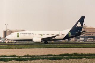 F-GFUD Boeing 737-300 @ Schiphol 29-04-1989
