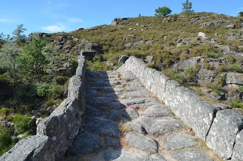 Walking in medieval paths