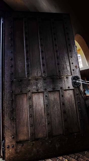 ancient kitchen door..