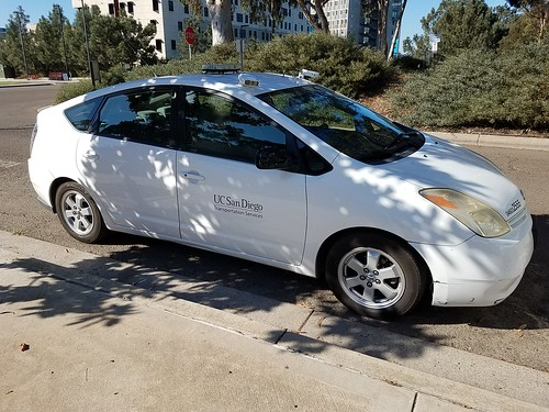 Parking Enforcement Vehicle with License Plate Scanner - UCSD