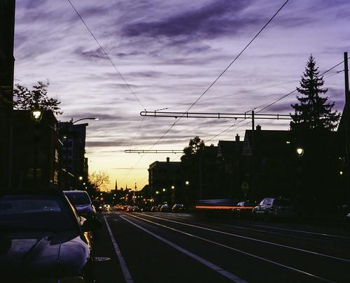 Ogden Sunset Long Exposure