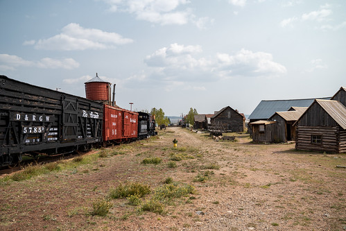 riogrande fairplaycolorado ghosttown historic mine buildings locomotive town abandoned mining openairmuseum museum train parkcounty tourism southparkcity railroad