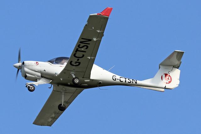 G-CTSN  -  Diamond Aircraft DA-40NG Diamond Star  -  c/n 40.N180  -  BOH/EGHH 15/9/20
