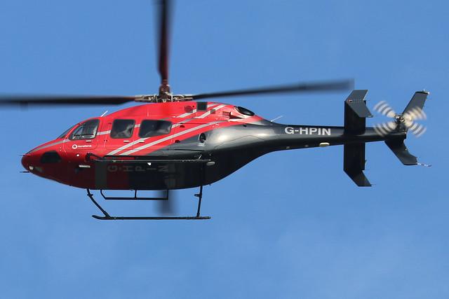 G-HPIN  -  Bell 429 Global Ranger c/n 57187  -  BOH/EGHH 15/9/20
