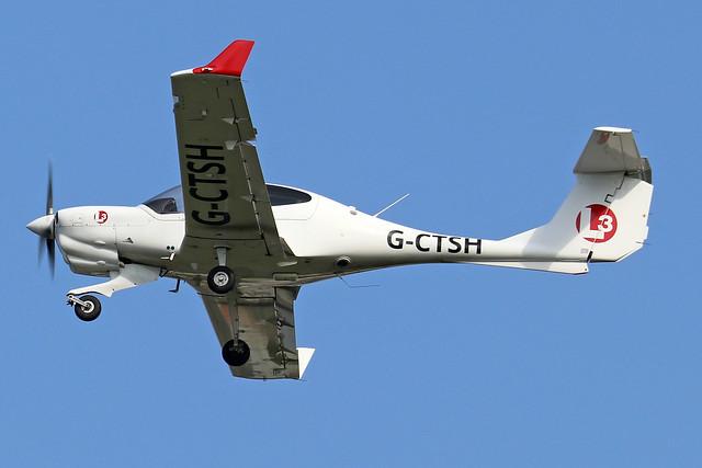 G-CTSH  -  Diamond Aircraft DA-40NG Diamond Star  -  c/n 40.N310  -  BOH/EGHH 15/9/20