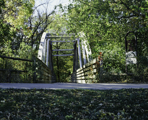 Riverside Park Bridge Fall