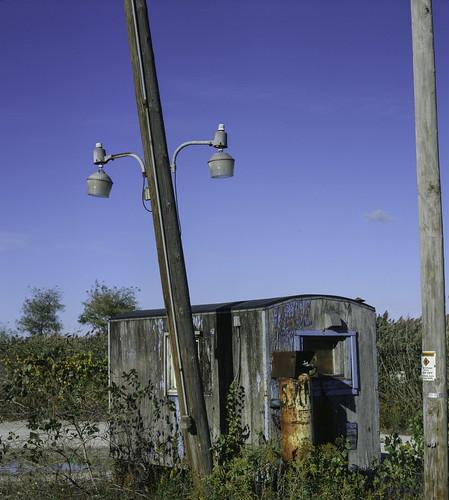 Forgotten Lakefront Shack