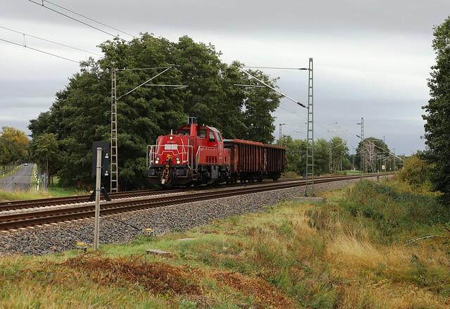 DB Cargo 261 019-4- Zerbst 25/09/2020.