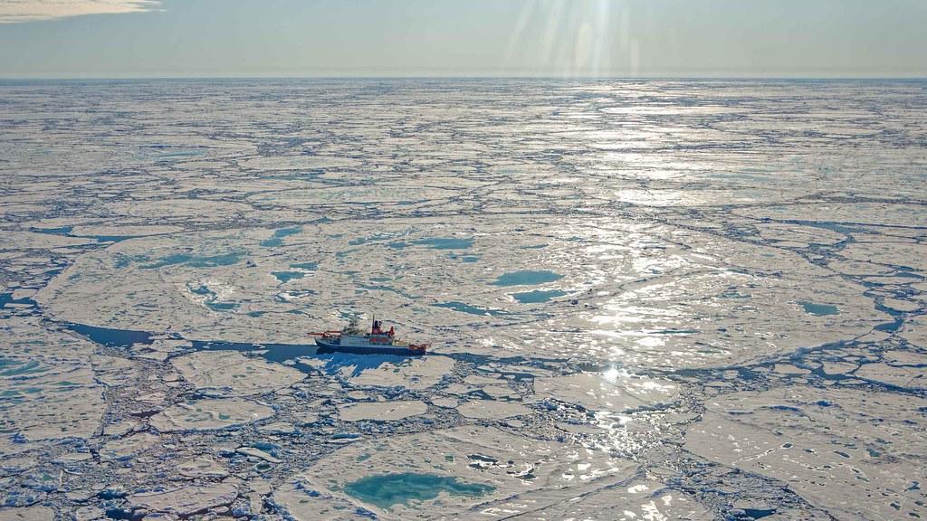 2020年北極海冰狀況。圖片來源:Alfred-Wegener-Institut / Markus Rex(CC-BY 4.0)