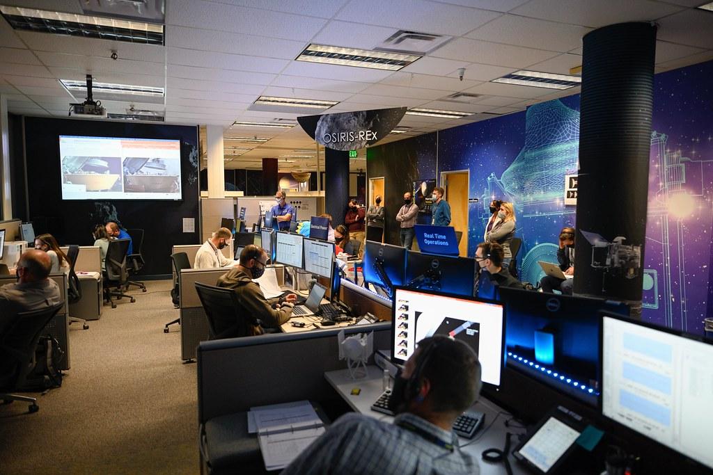 OSIRIS-REx Stow Mission Operations at Lockheed Martin