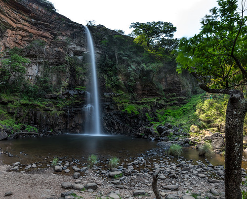 sabie mpumalanga southafrica nopeople outdoors waterfall nature water rocks flowing travel landscape scenery tree plant scenicsnature