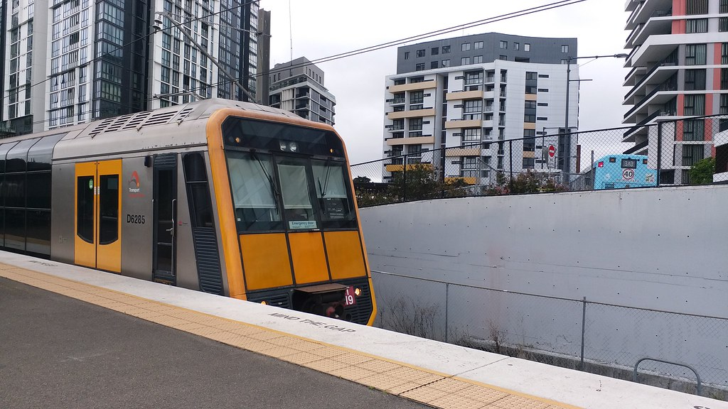 T19 Arriving Into Wolli Creek