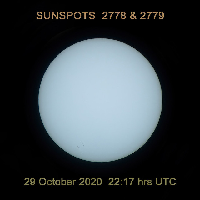 Big sunspots