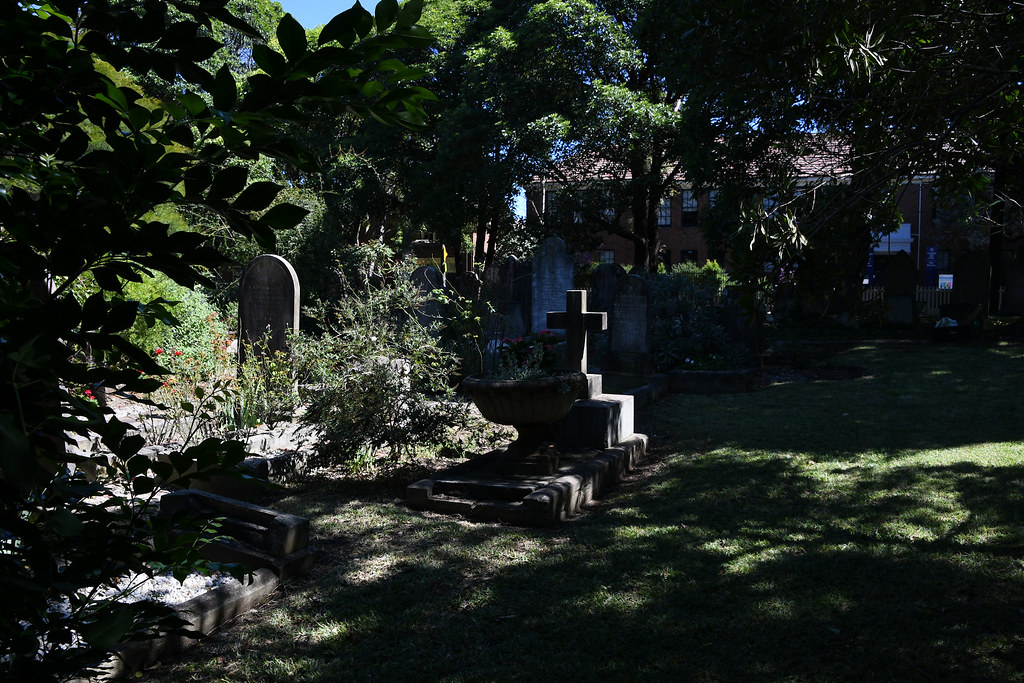 St Paul's Anglican Church Cemetery, Canterbury, Sydney, NSW.
