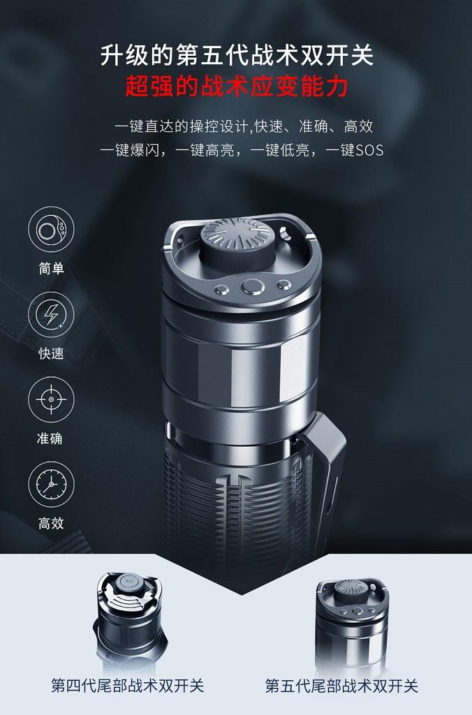 KLARUS XT21C 戰術手電筒 3200流明 -4