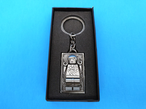 LEGO Star Wars Han Solo Carbonite Metal Keychain (5006363)