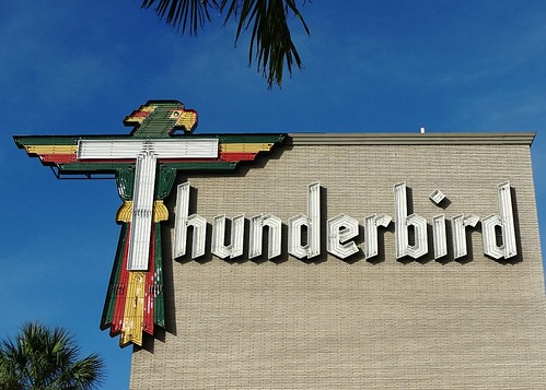 FL, Treasure Island-Thunderbird Resort Neon Sign | by Alan C of Marion,IN
