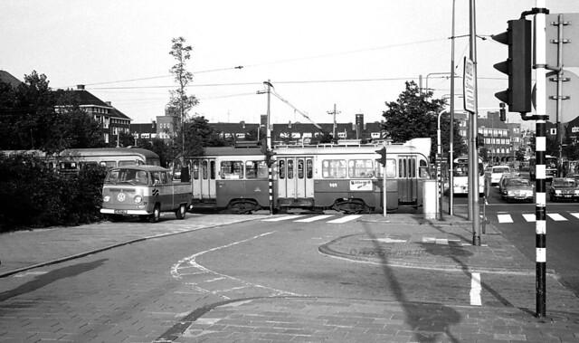Overstekende tram