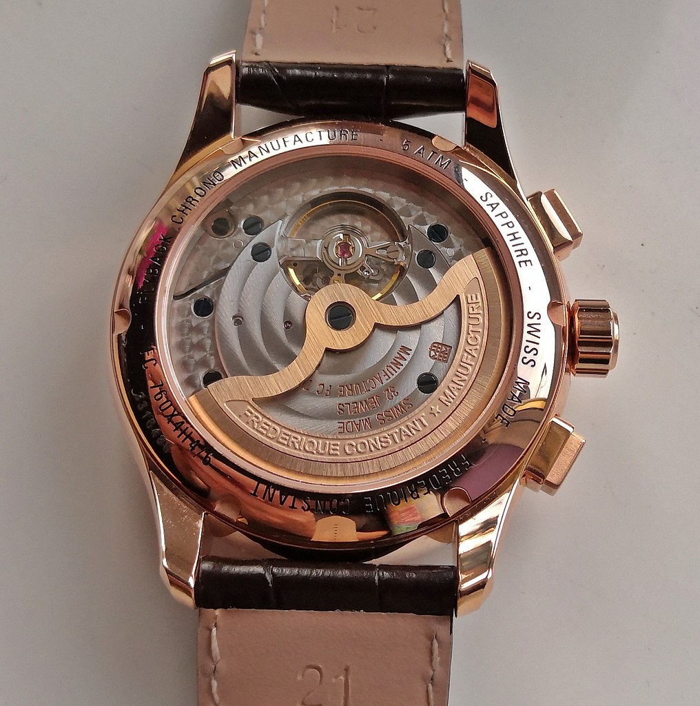 """Frederique Constant """"Manufacture Flyback Chronograph"""" FC-760V4H4 (Cal FC-760) 2"""