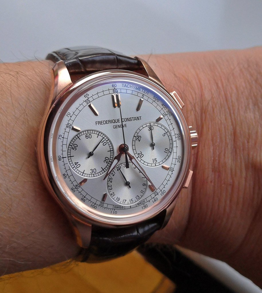 """Frederique Constant """"Manufacture Flyback Chronograph"""" FC-760V4H4 (Cal FC-760)"""