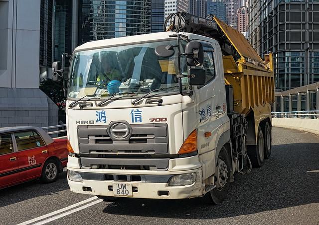 Hong Kong Transport - Trucks | UW 840
