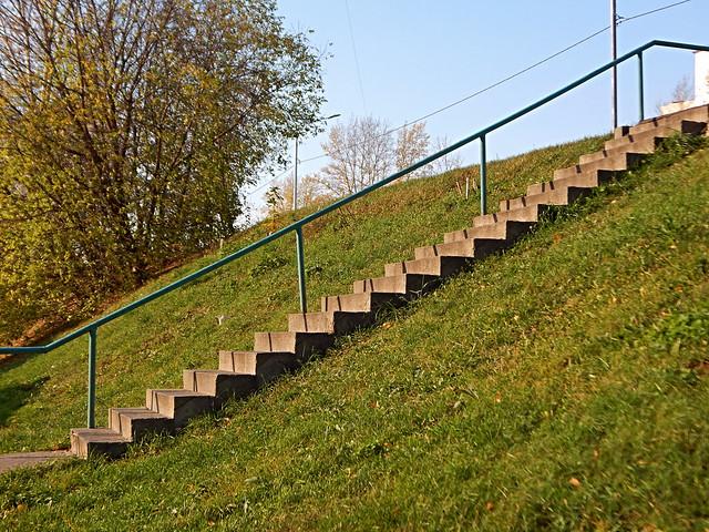 лестница в ноябрь