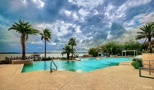landscape composition flickr photography nature outside outdoor scenery travel travelphotography fujifilm mirrorless clearlake lake texas cloud paradise pool poolside blue sky