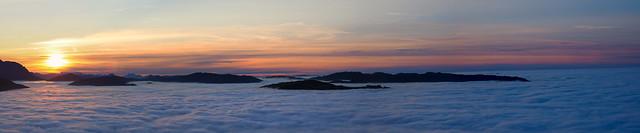 Über allen Gipfeln ist Ruh...