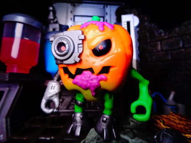 Drawlloween Day 29 - The Brilliant Professor Pumpkin