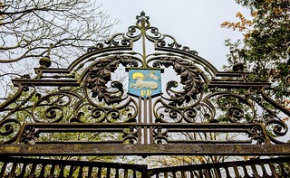 Haslam Park Gates | by Tony Worrall
