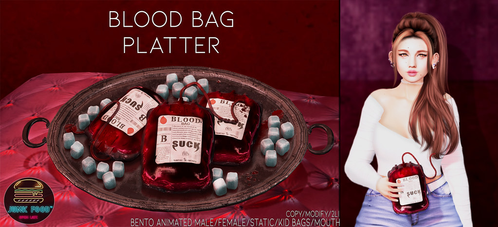 Junk Food – Blood Bag Platter