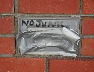 No Junk Mail. In Fact, No Mail At All