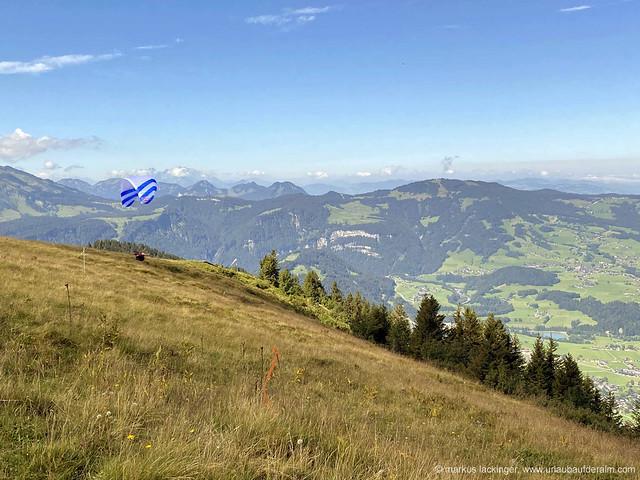 wandern am Panoramaweg Baumgarten / Bezau Vorarlberg